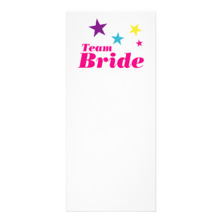 Bride team rack cards