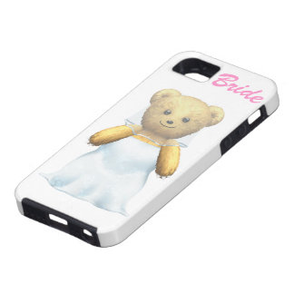 Bride Teddy Bear Tough iPhone 5 Case