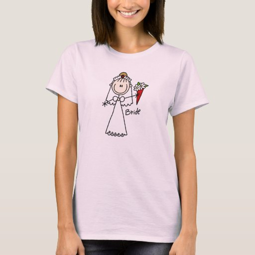Bride Throwing The Bouquet Shirt