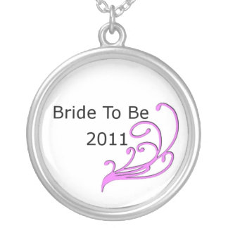 Bride To Be 2011 Round Pendant Necklace