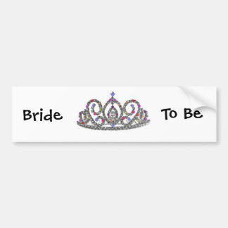 Bride to Be Bumper Sticker
