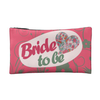 Bride to BE Cosmetics Bags