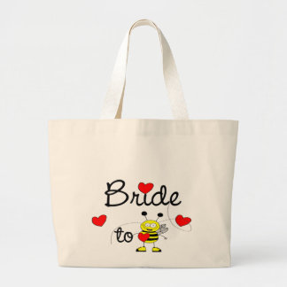 Bride to Be / HEART HAPPY BEE Jumbo Tote Bag