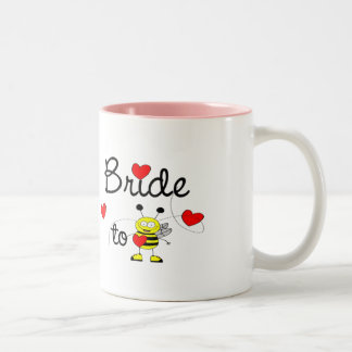 Bride to Be / HEART HAPPY BEE Two-Tone Mug