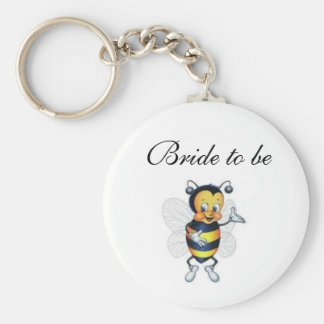 Bride to be key ring