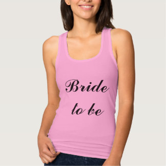 Bride To Be Lilac Purple Weddings Trendy Simple Tank Top