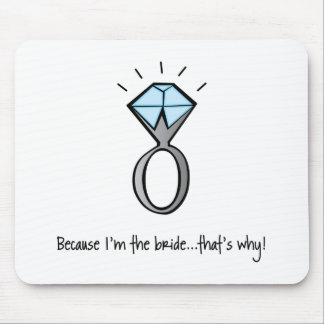 bride to be mouse mat