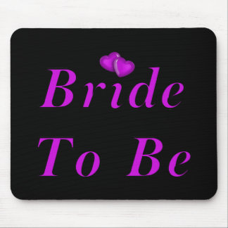 Bride To Be Simply Love Mouse Pad