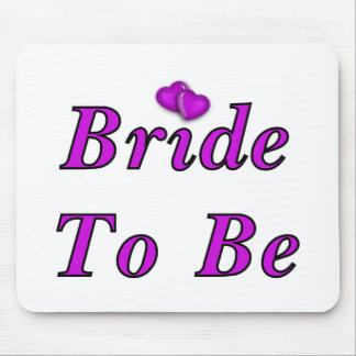 Bride To Be Simply Love Mousepad