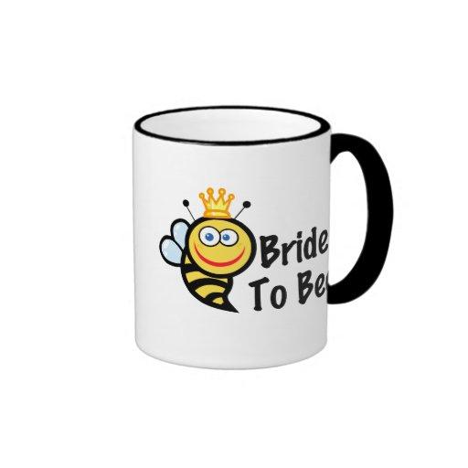 Bride To Bee Mugs