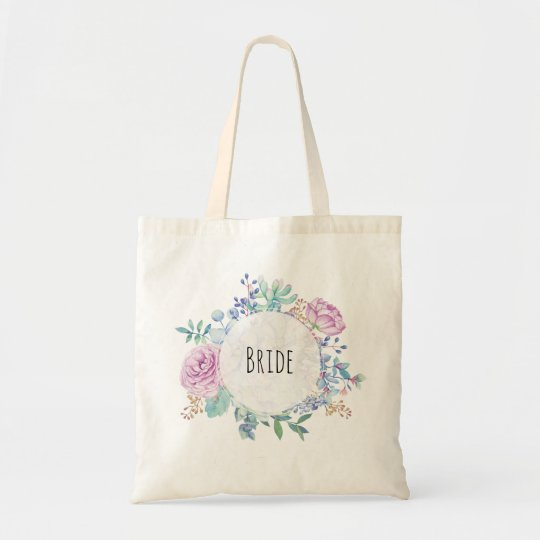 bride tote bag bachelorette hen party succulent