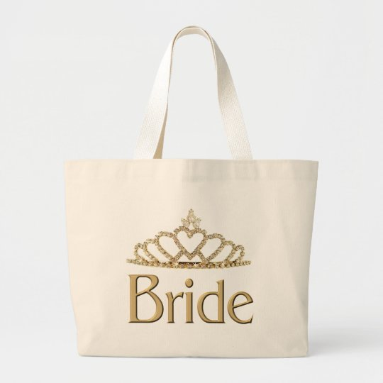 Bride totebag large tote bag