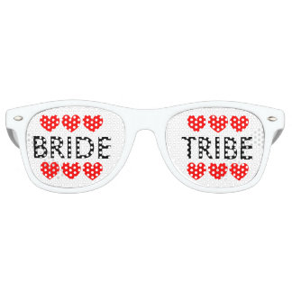 Bride Tribe bachelorette party shades sunglasses