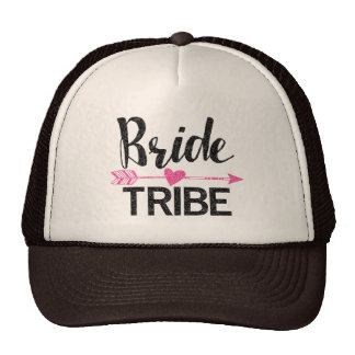 Bride Tribe|Black and Pink Cap