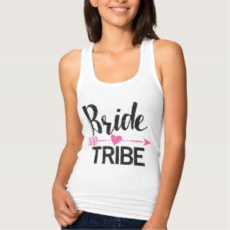 Bride Tribe | Black & Pink Tank Top