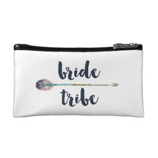 Bride Tribe Bohemian Arrow Makeup Bag