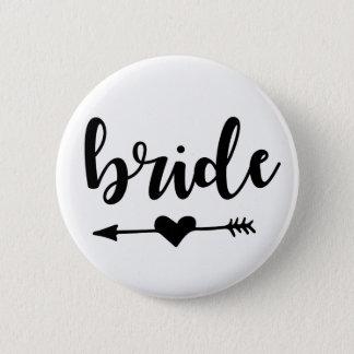 Bride Tribe Button for Bride
