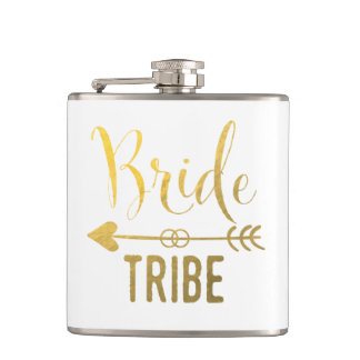 Bride Tribe Flask