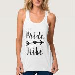 Bride Tribe funny women's Bridesmaid tank