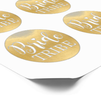 BRIDE TRIBE Gold Bridal Shower Tattoos Hen Party