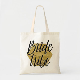 Bride Tribe (gold) Tote Bag