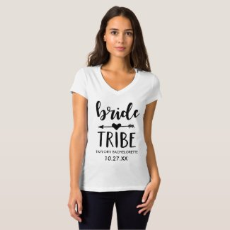 Bride Tribe Personalised Bachelorette Shirt