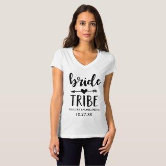 Bride Tribe Personalised Bachelorette Shirt