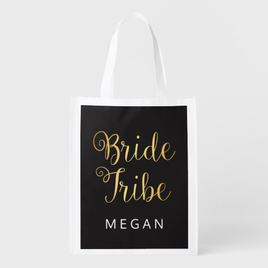 Bride Tribe Personalised Market Tote