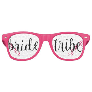 Bride tribe retro sunglasses