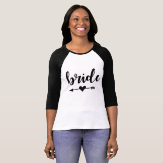 Bride Tribe T-Shirt For Bride
