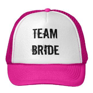 BRIDE TRIBE TRUCKER HAT PINK