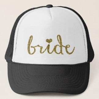 Bride Trucker's Hat Wedding Bachelorette Hat