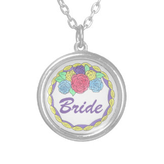Bride Wedding Cake Bridal Shower Gift Necklace