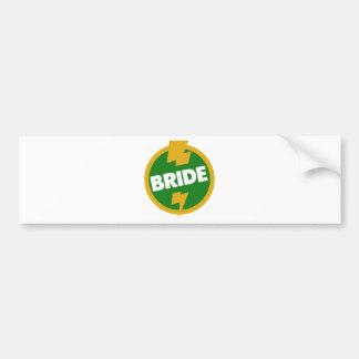 Bride Wedding - Dupree Car Bumper Sticker