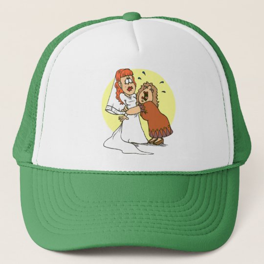 Bride wedding humour cap