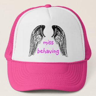 bride wings trucker hat