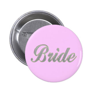 Bride with bling buttons