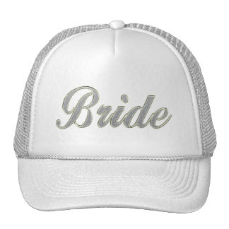 Bride with bling cap