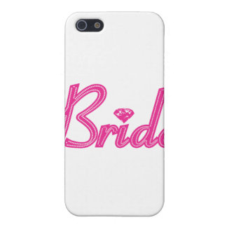 Bride with Bling - Pink Case For iPhone 5/5S