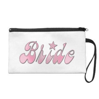 Bride wristlet