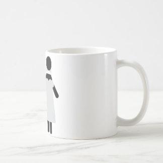 bridegroom and bride wedding icon mugs