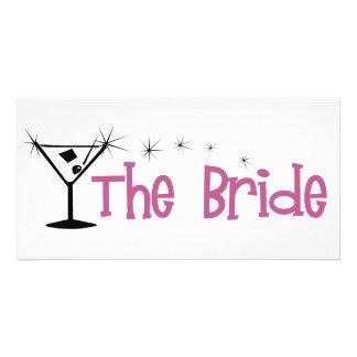 Bridemartini Customized Photo Card
