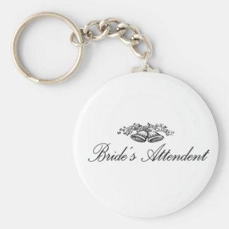 Brides Attendent Keychain
