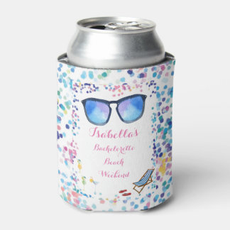 Brides Bachelorette Weekend Beach Party Can Cooler