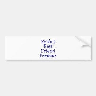 Brides Best Friend Forever Bumper Stickers
