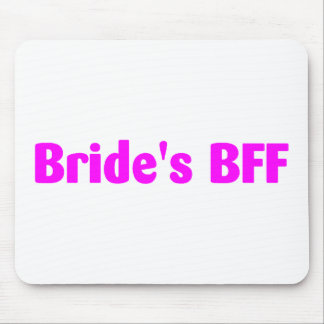 Brides BFF (Pink) Mouse Pad