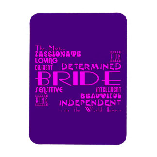 Brides Bridal Showers Wedding Parties : Qualities Rectangular Magnet