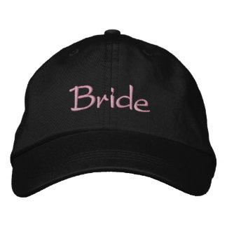 Bride's Classy Embroidered Baseball Caps