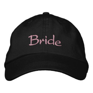 Bride's Classy Embroidered Hat