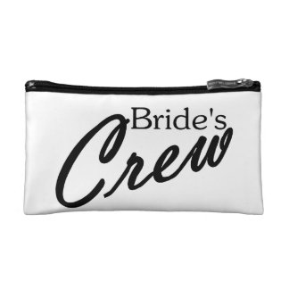 Brides Crew Makeup Bags